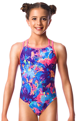 Primrose Girls Cross Back - Shop Zealous Training Swimwear