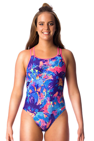 Primrose Ladies Cross Back - Shop Zealous Training Swimwear