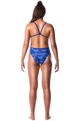 Sun Dancer Ladies Thin Strap - Shop Zealous Training Swimwear