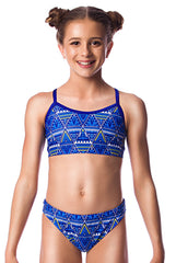 Sun Dancer Girls Two Piece - Shop Zealous Training Swimwear