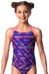 Wildfire Girls Cross Back - Shop Zealous Training Swimwear