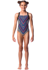 Wind Song Girls Racers - Shop Zealous Training Swimwear