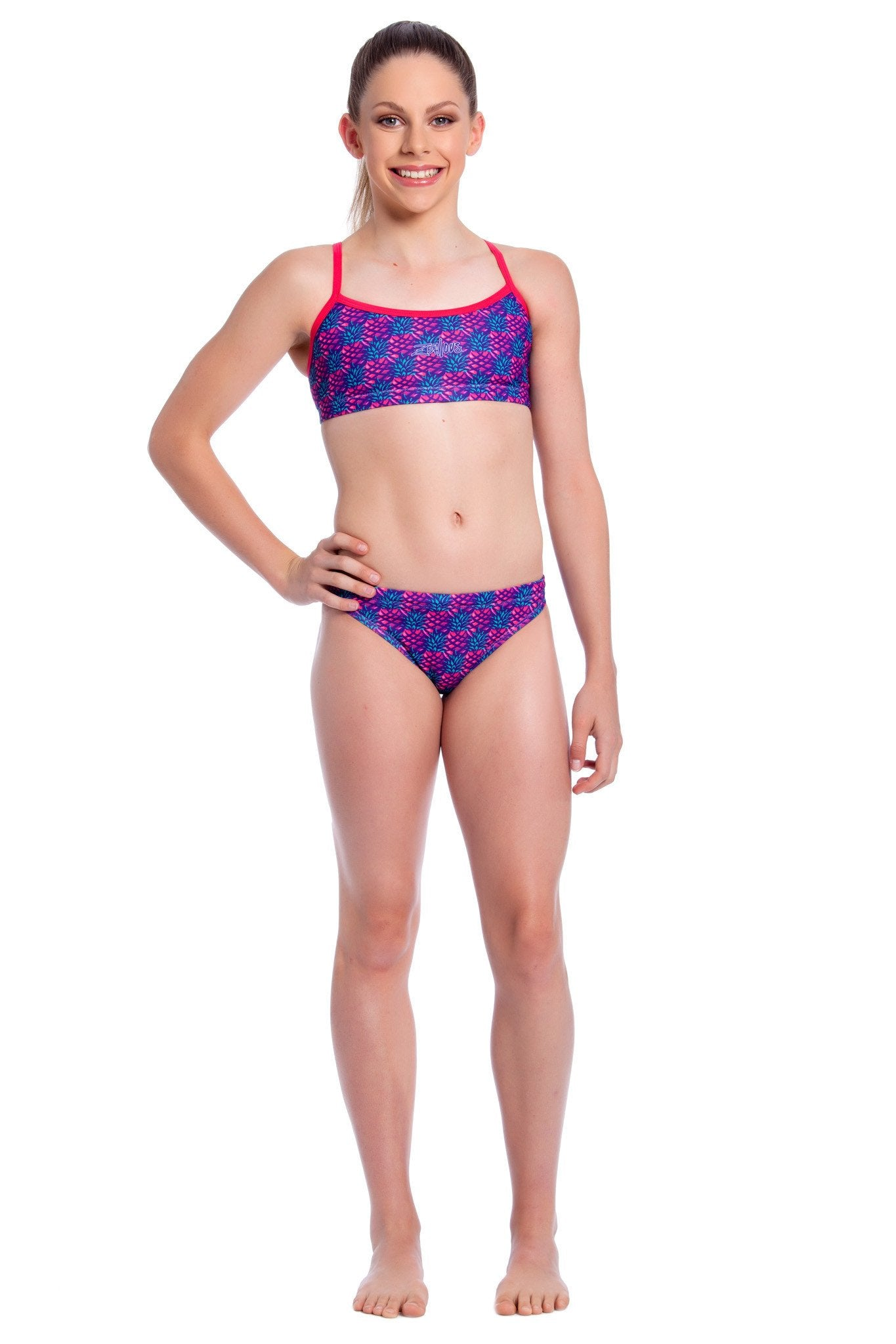 Pink Paradise - Girls 10 ONLY Girls Two Piece - Shop Zealous Training Swimwear