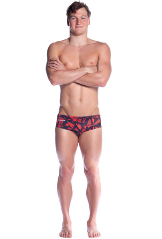 Fractured - Mens L ONLY Men's Briefs - Shop Zealous Training Swimwear