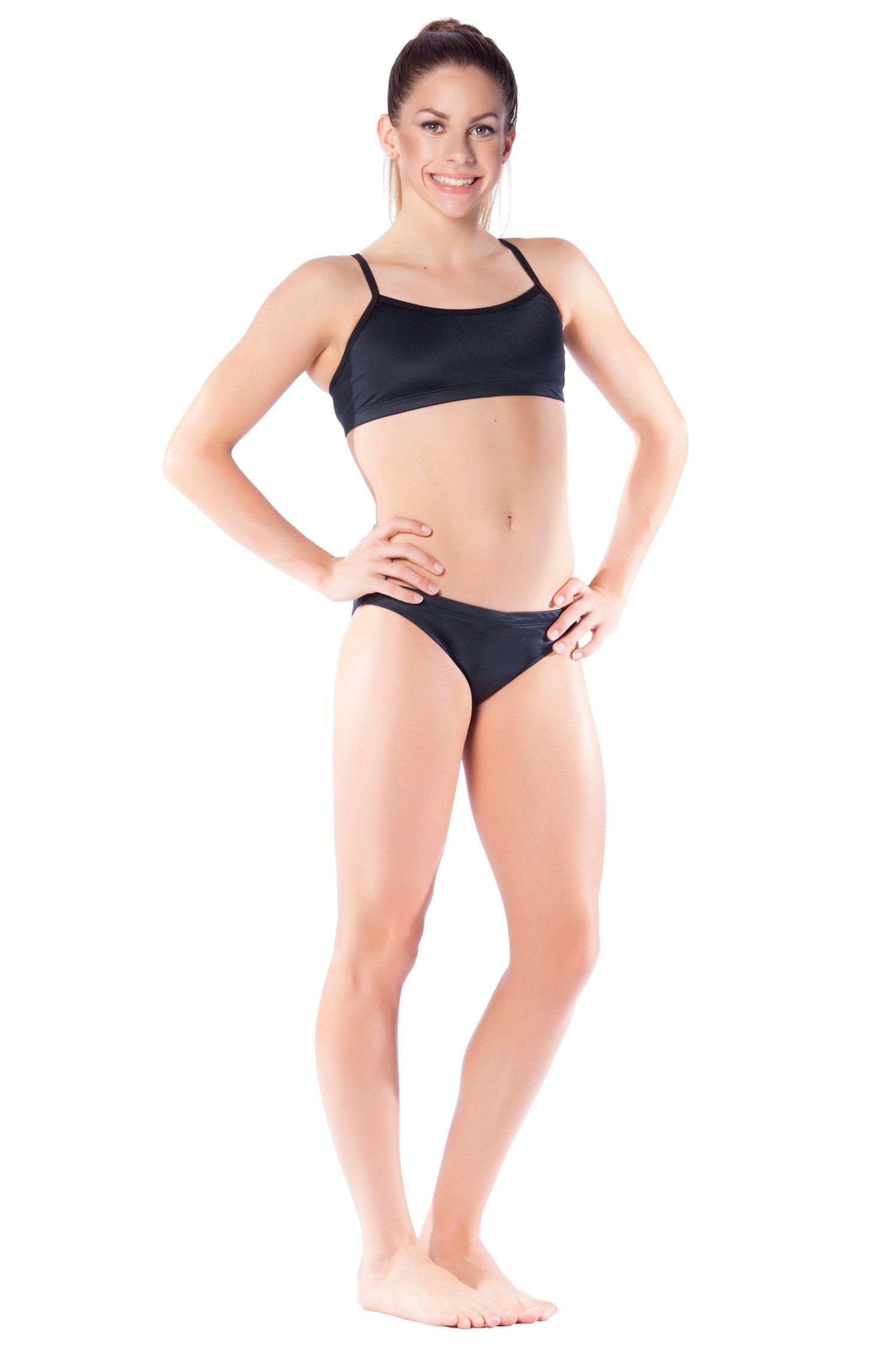 Pitch Black Girls Two Piece - Shop Zealous Training Swimwear