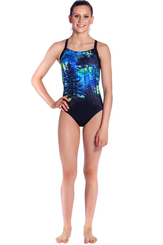 Midnight Magic - Girls 8 ONLY Girls Racers - Shop Zealous Training Swimwear