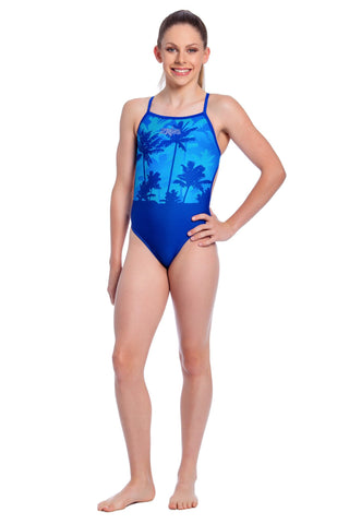 Aloha Baby Girls Thin Strap - Shop Zealous Training Swimwear