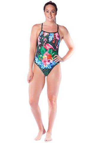 Flamenco Ladies Thin Strap - Shop Zealous Training Swimwear