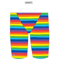 RAINBOW SKY - MALE Personalised Swimwear - Shop Zealous Training Swimwear
