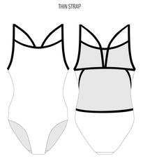 CUSTOM - FEMALE Personalised Swimwear - Shop Zealous Training Swimwear