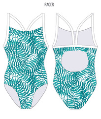 CRYSTAL COVE - FEMALE Personalised Swimwear - Shop Zealous Training Swimwear