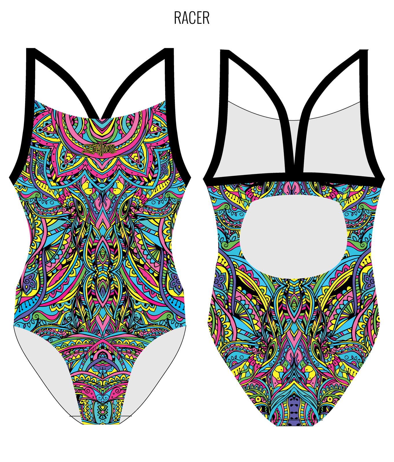 DREAMCATCHER - FEMALE Personalised Swimwear - Shop Zealous Training Swimwear