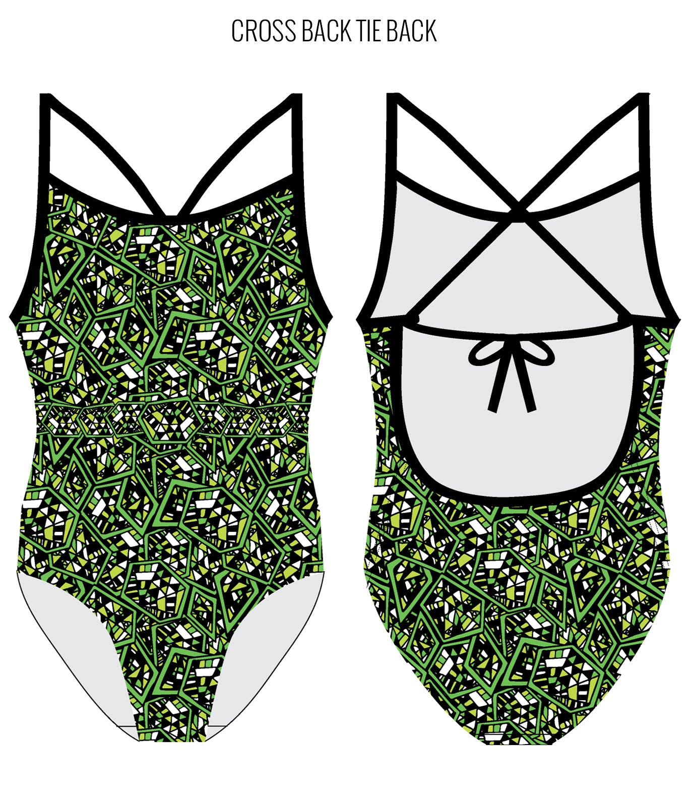 CRACKERJACK - FEMALE Personalised Swimwear - Shop Zealous Training Swimwear