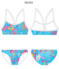 DAY DREAM - FEMALE Personalised Swimwear - Shop Zealous Training Swimwear