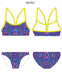 LA LA LOOPY - FEMALE Personalised Swimwear - Shop Zealous Training Swimwear
