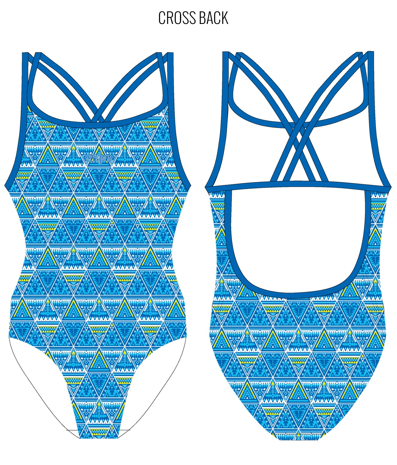 SUN DANCER - FEMALE Personalised Swimwear - Shop Zealous Training Swimwear