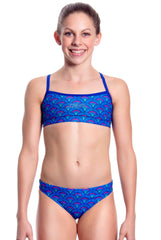 Love Strong - Girls 10 ONLY Girls Two Piece - Shop Zealous Training Swimwear