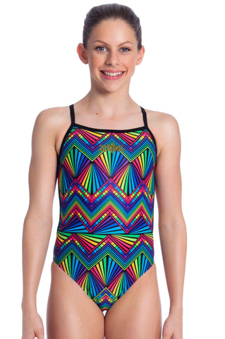 50% OFF Labyrinth Girls One Piece - Shop Zealous Swimwear
