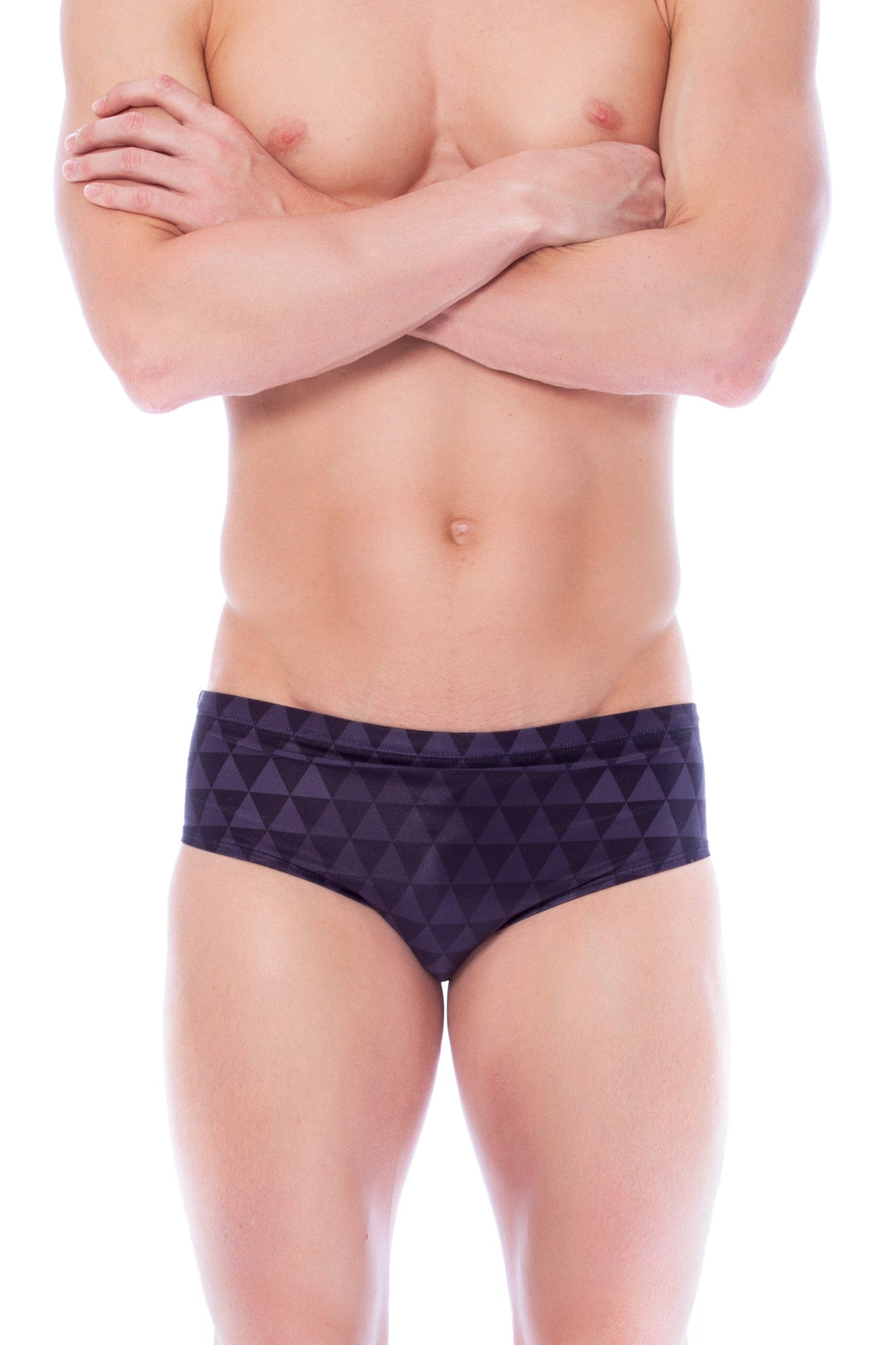 Carbon - Mens M Only Men's Briefs - Shop Zealous Training Swimwear