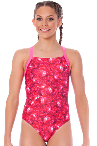 Ruby Rose Girls Racers - Shop Zealous Training Swimwear