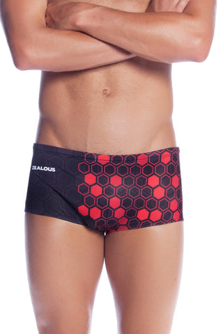 Raging Red Men's Trunks - Shop Zealous Training Swimwear