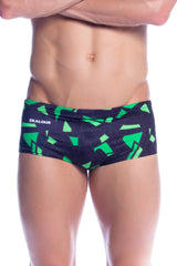 Neon Clash - Mens L Only Men's Trunks - Shop Zealous Training Swimwear