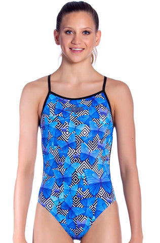 Bella Blue Girls One Piece - Shop Zealous Swimwear