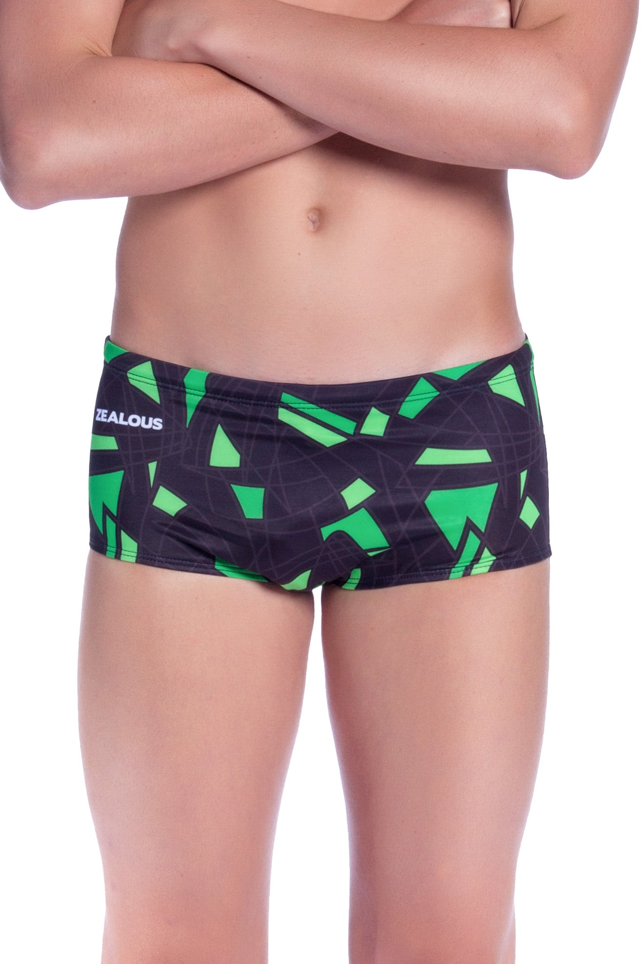 Neon Clash Boys Trunks - Shop Zealous Training Swimwear