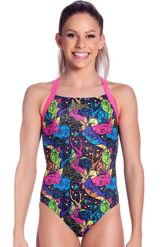 Moonchild Girls Racers - Shop Zealous Training Swimwear