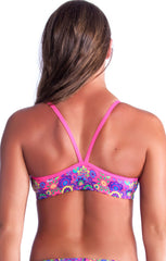 Mystic Meadow Top - Ladies 8 Only Ladies Two Piece - Tops - Shop Zealous Training Swimwear