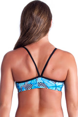 Flutterby Top - Ladies 8 Only Ladies Two Piece - Tops - Shop Zealous Training Swimwear