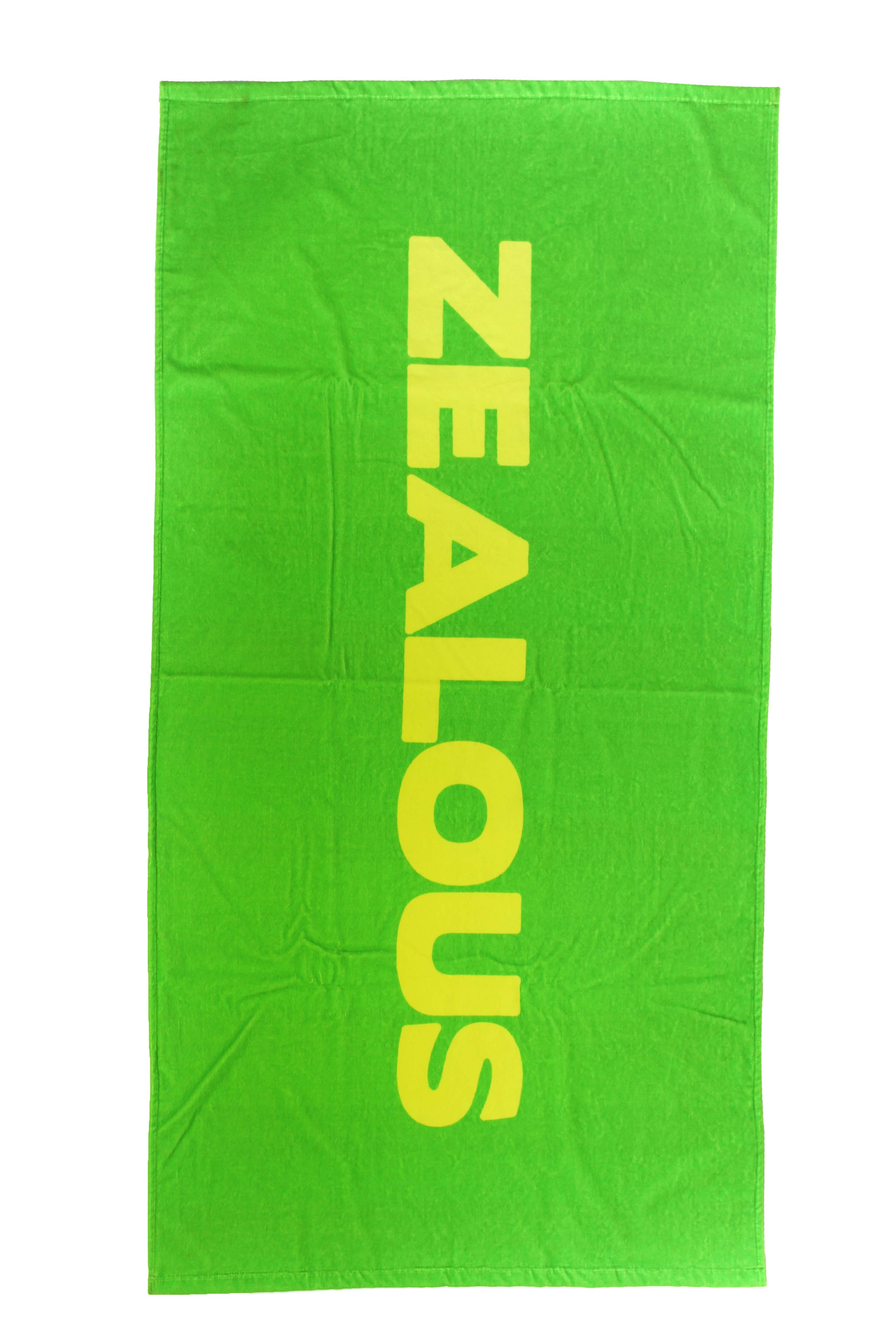 Lime Green & Yellow Towel Accessories - Shop Zealous Training Swimwear