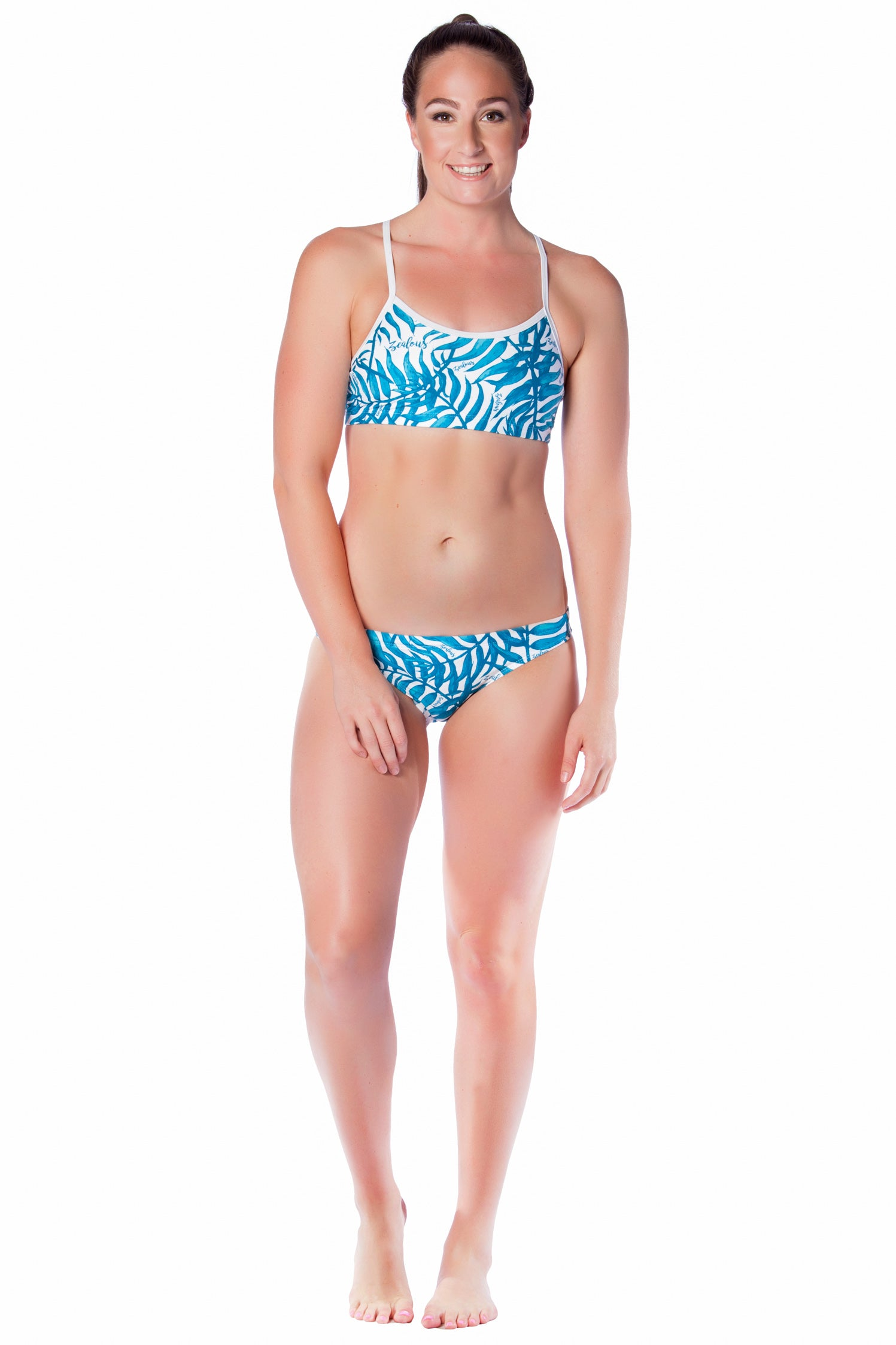 Blue Haven Brief - Ladies 12 Only Ladies Two Piece - Briefs - Shop Zealous Training Swimwear