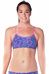 Candy Kisses Top - Ladies 8 Only Ladies Two Piece - Tops - Shop Zealous Training Swimwear