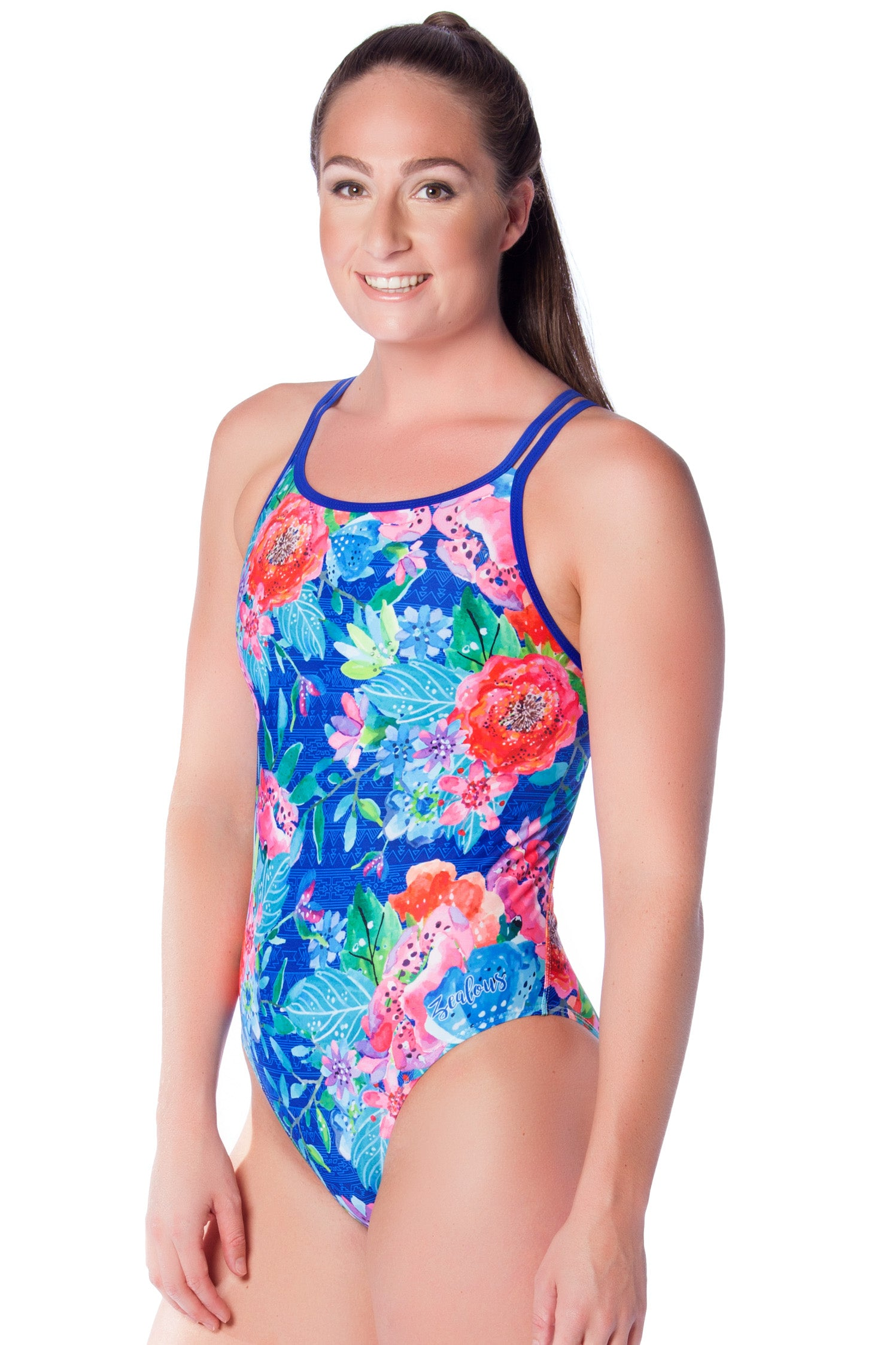Miss Nevada Ladies Cross Back - Shop Zealous Training Swimwear