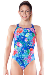 Miss Nevada Girls Cross Back - Shop Zealous Training Swimwear