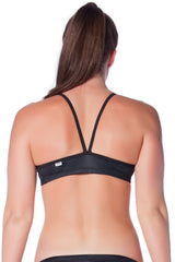 Pitch Black Top Ladies Two Piece - Tops - Shop Zealous Training Swimwear