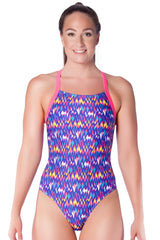 San Fran Sunset Ladies Racers - Shop Zealous Training Swimwear
