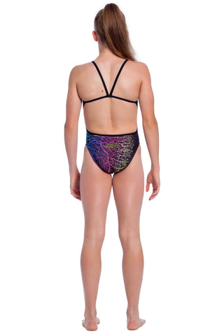 Coral Cluster - Girls 10 Only Girls Thin Strap - Shop Zealous Training Swimwear