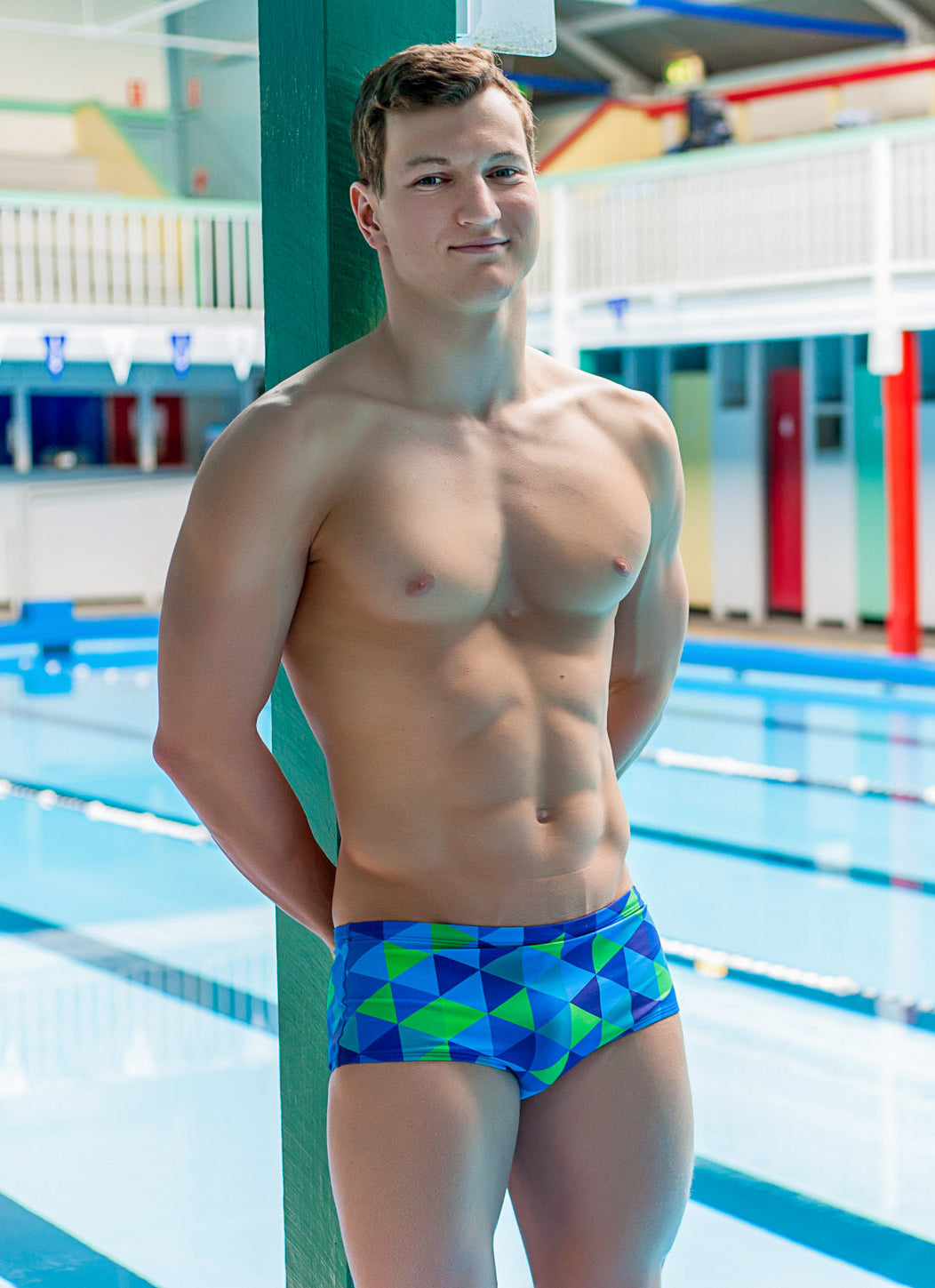 KRYPTONITE - MALE Personalised Swimwear - Shop Zealous Training Swimwear