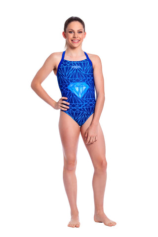Crystal Dream Girls Racers - Shop Zealous Training Swimwear