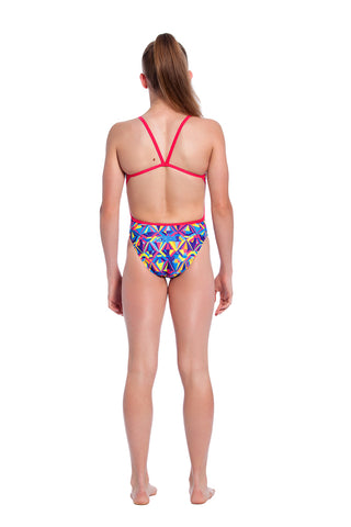 Sherbet Sparkle - Girls 10 Only Girls Thin Strap - Shop Zealous Training Swimwear