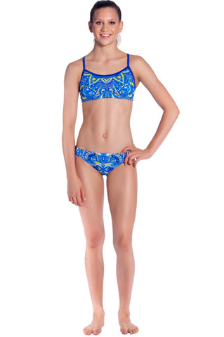 Dew Drop Girls Two Piece - Shop Zealous Training Swimwear