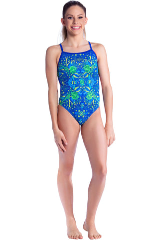 Willow - Girls 10 Only Girls Thin Strap - Shop Zealous Training Swimwear