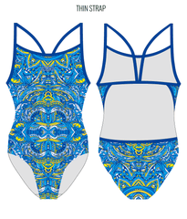 DEW DROP - FEMALE Personalised Swimwear - Shop Zealous Training Swimwear
