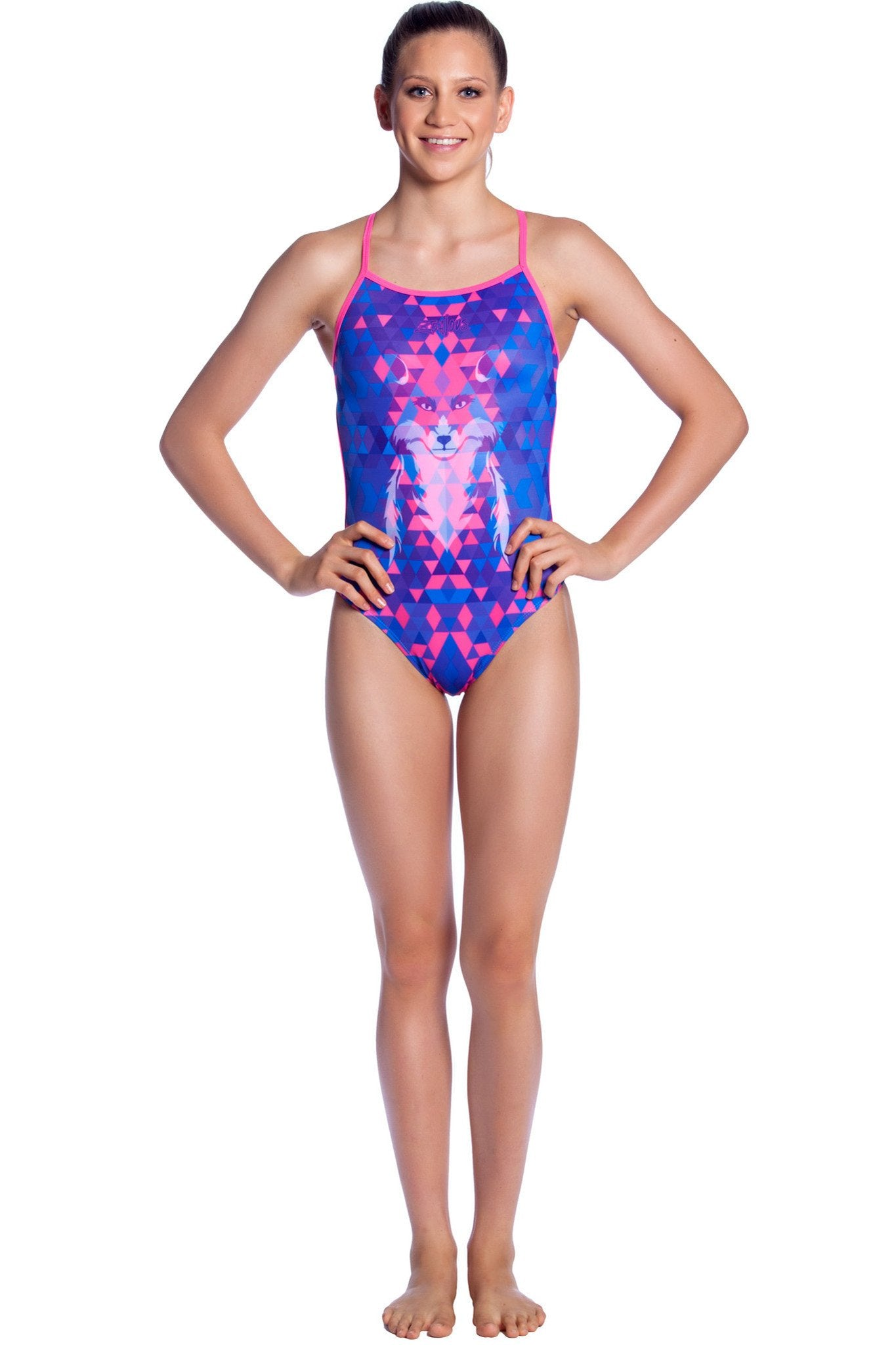 Foxtrot Girls Thin Strap - Shop Zealous Training Swimwear