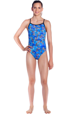 Bella Blue - Girls 10 ONLY Girls Thin Strap - Shop Zealous Training Swimwear