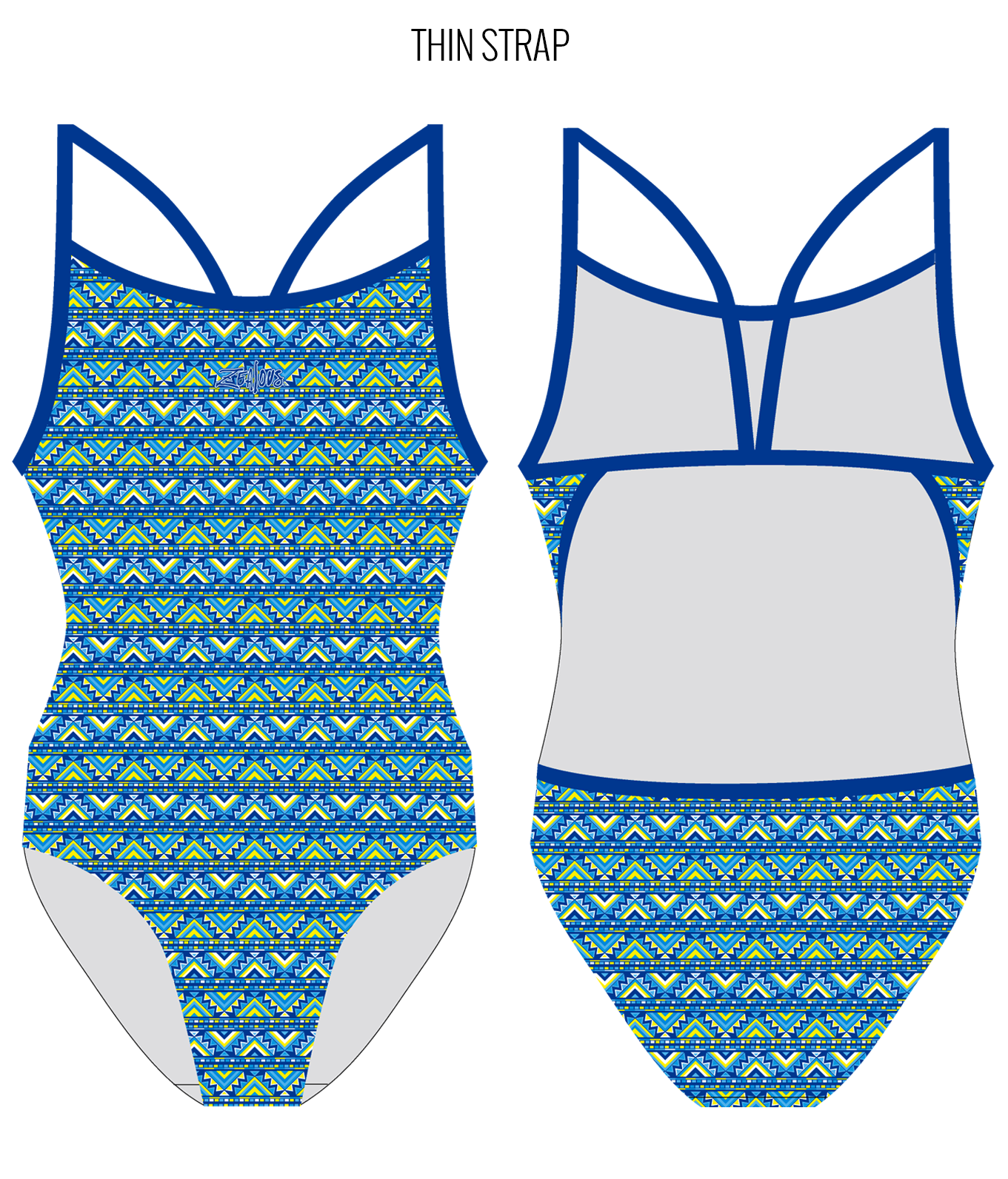 COACHELLA - FEMALE Personalised Swimwear - Shop Zealous Training Swimwear