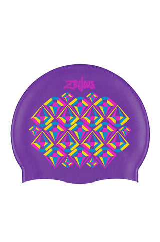 Pink Sherbet Silicone Cap - Shop Zealous Training Swimwear
