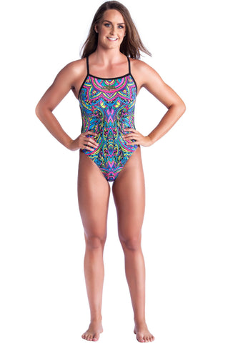Dreamcatcher - Ladies 10 Only Ladies Thin Strap - Shop Zealous Training Swimwear